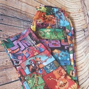 Marvel comics guardians of the Galaxy sleep pants